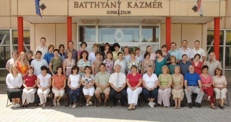 Tanárok 2006-2007