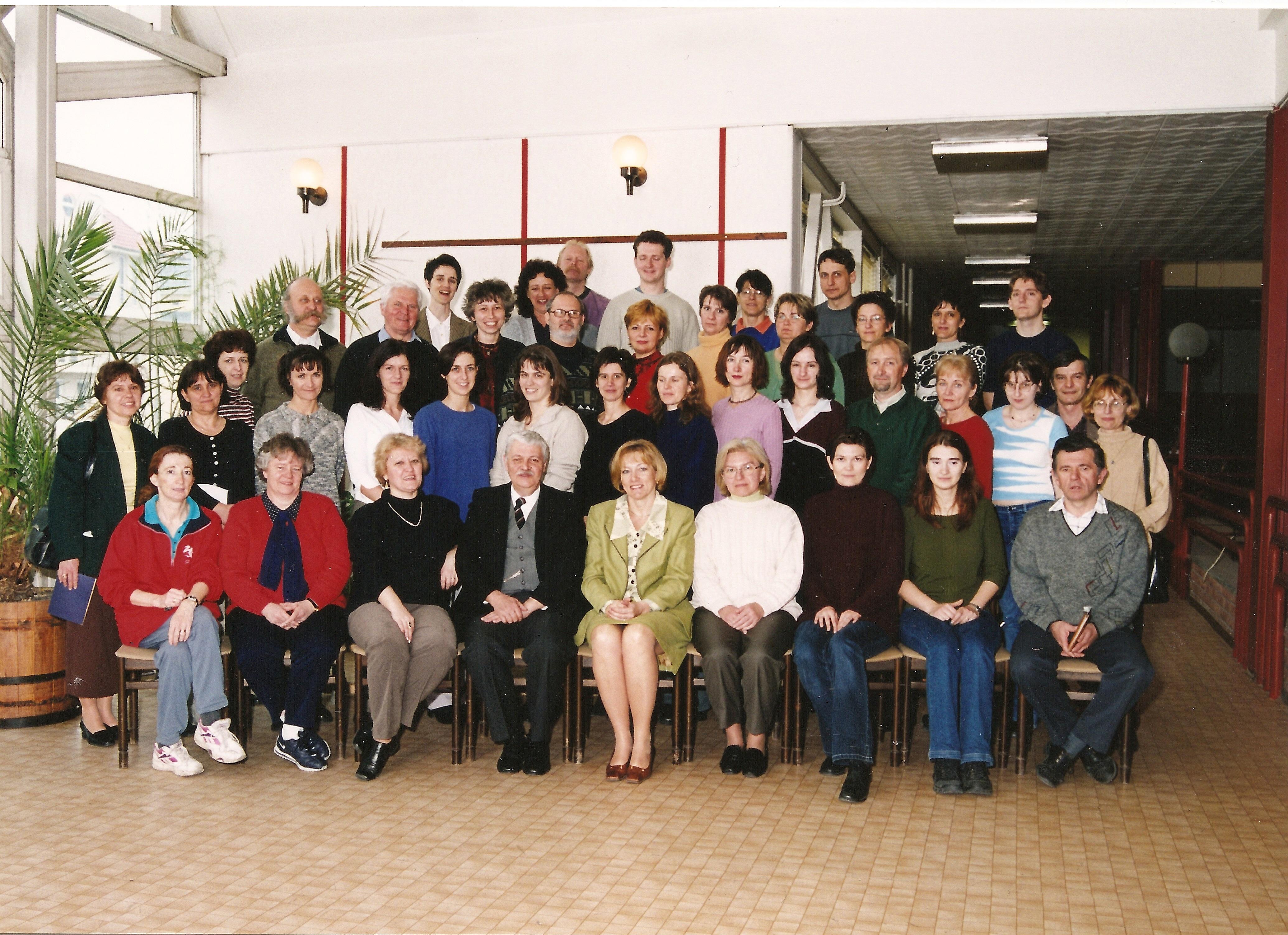 2001. BKG tanári kar